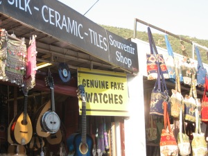 Souvenir shop outside of Ephesus, Turkey