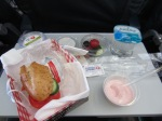 Even the food on Turkish Airlines was good!