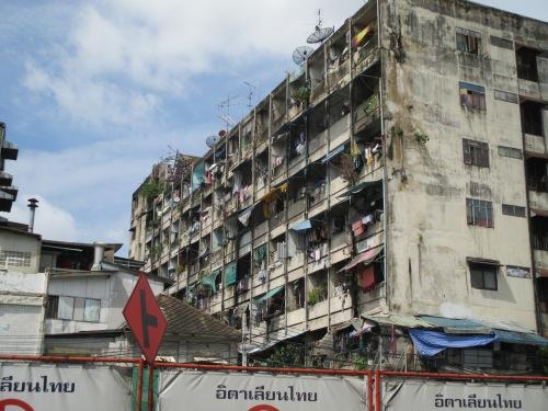 A tenement in Bangkok