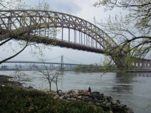 The view from Astoria Park