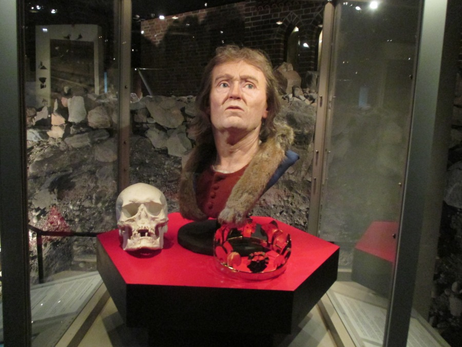 Reconstructed face and skull of Birger Jarl, Medieval Museum